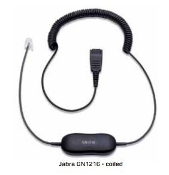 Jabra GN1216 - Headset Cable - Avaya Phones (Coiled)
