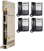 Avaya Partner ACS R7 + (4) Partner 18D Euro Phones