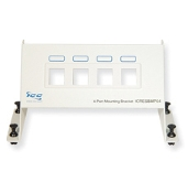RESI Mounting Panel, Blank, 4-Port
