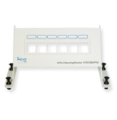 RESI Mounting Panel, Blank, 6-Port