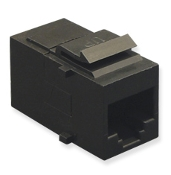 CAT5e Modular Connector - Black