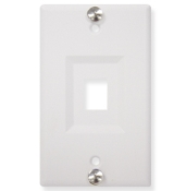 Telephone Wall Plate 1 Port