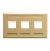 Modular Furniture Faceplate 3 Port
