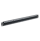CAT6c HD Patch Panel 24port