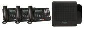 Vertical Summit Package - KSU, VM, (3) 30 Button Phones