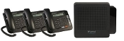 Vertical Summit Package - KSU, VM, (3) 8 Button Phones