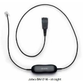 Jabra GN1216 - Headset Cable - Avaya Phones (Straight)